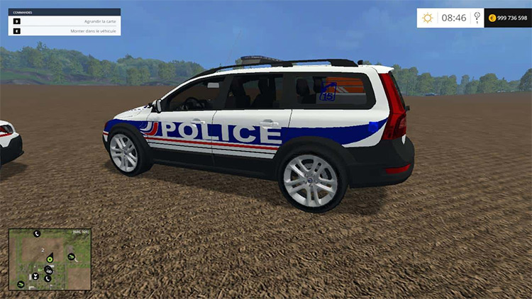 FS15 Volvo Police Nationale Mod