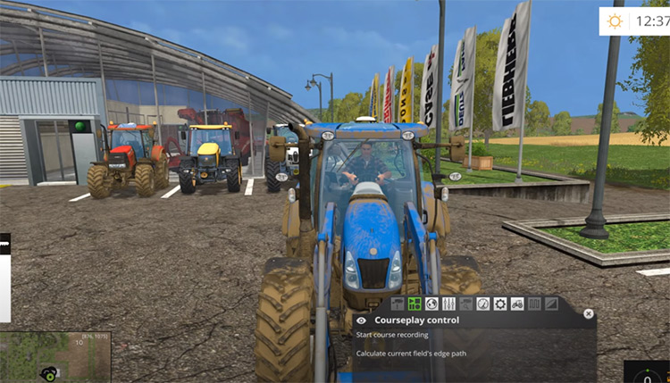 Courseplay FS15 Mod