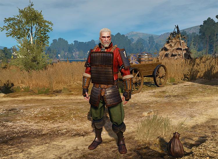 Samurai Armor Set for Witcher 3