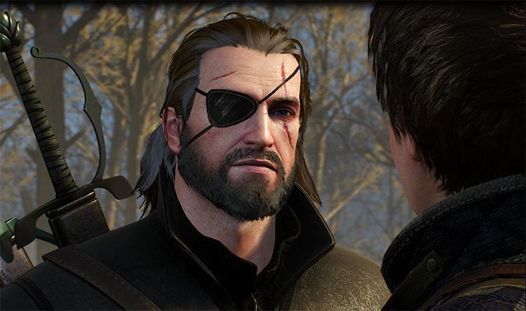 Snake's Eyepatch Mod