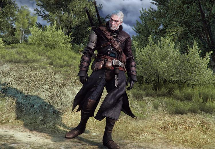 Vagabond Armor Witcher 3 Mod