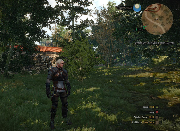 Warrior Leather Jacket Mod for Witcher 3