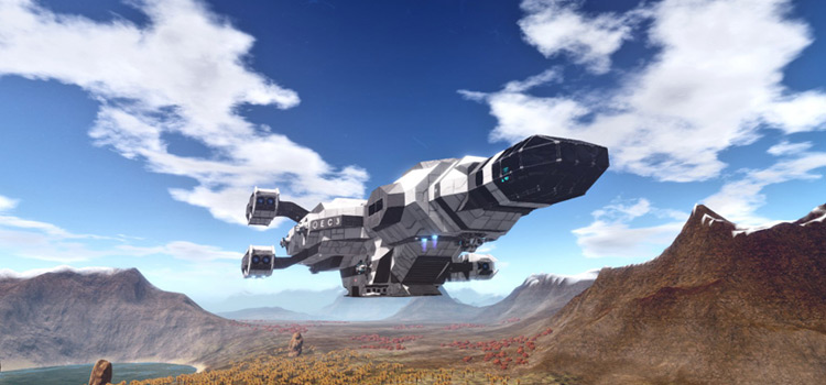 HD ReShade Ship Preview - Empyrion Galactic Survival Modded