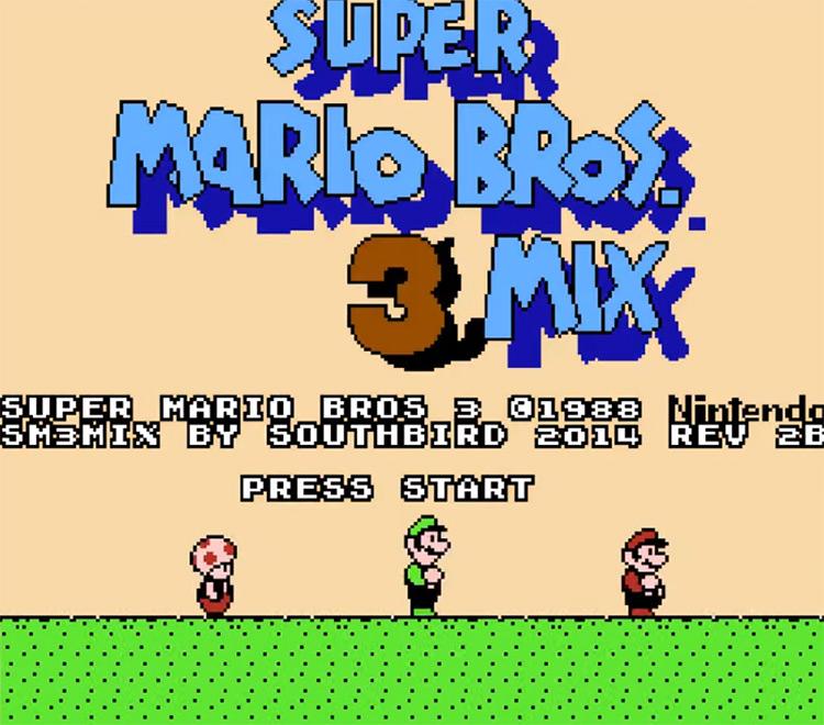 Super Mario Bros. 3Mix ROM Hack