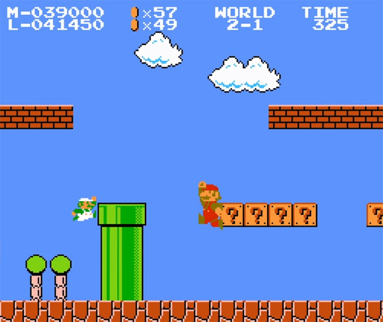 SMB 2-player NES hack