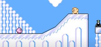 Kirby Bizarre Adventure ROMHack Screenshot