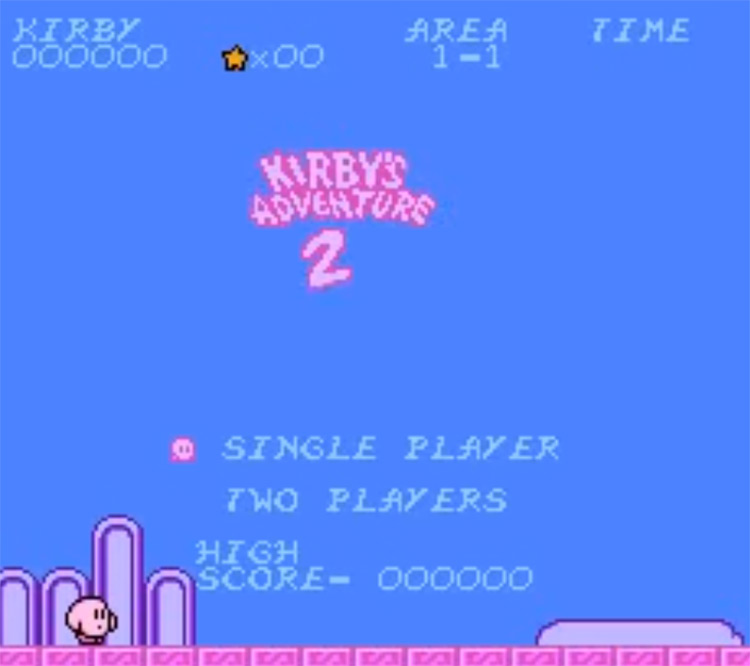 Kirby's Adventure 2 ROM Hack