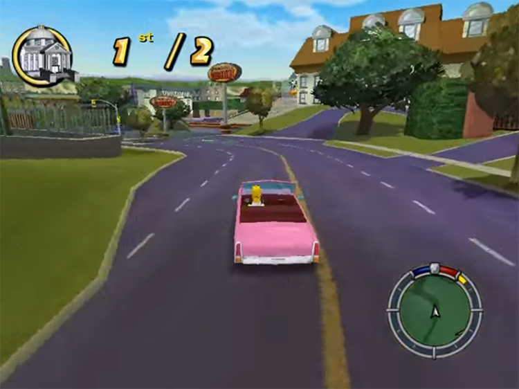 The Simpsons: Hit & Run Screenshot