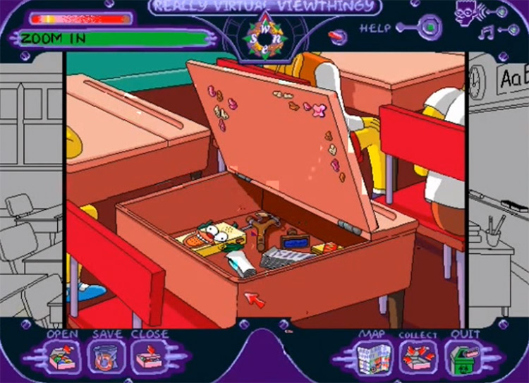 Simpsons: Virtual Springfield Screenshot