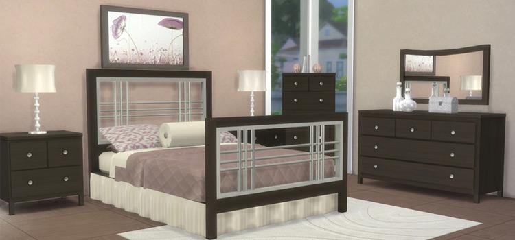 Sandy Lane Custom Bedroom Furniture CC - TS4 Preview