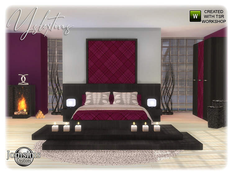 Yslextius Adult Bedroom Content Pack - Sims 4