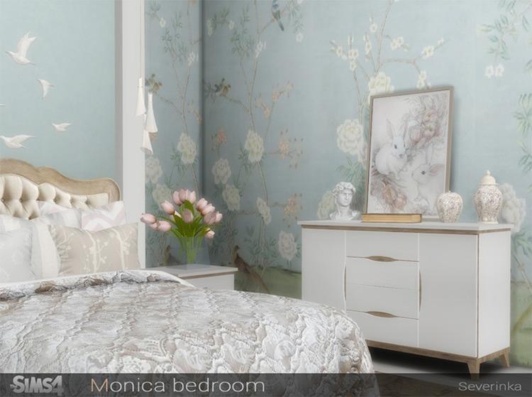 Monica Bedroom CC for TS4