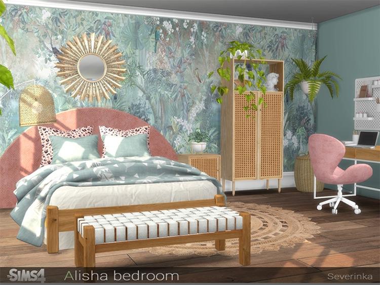 Alisha Bedroom CC for TS4