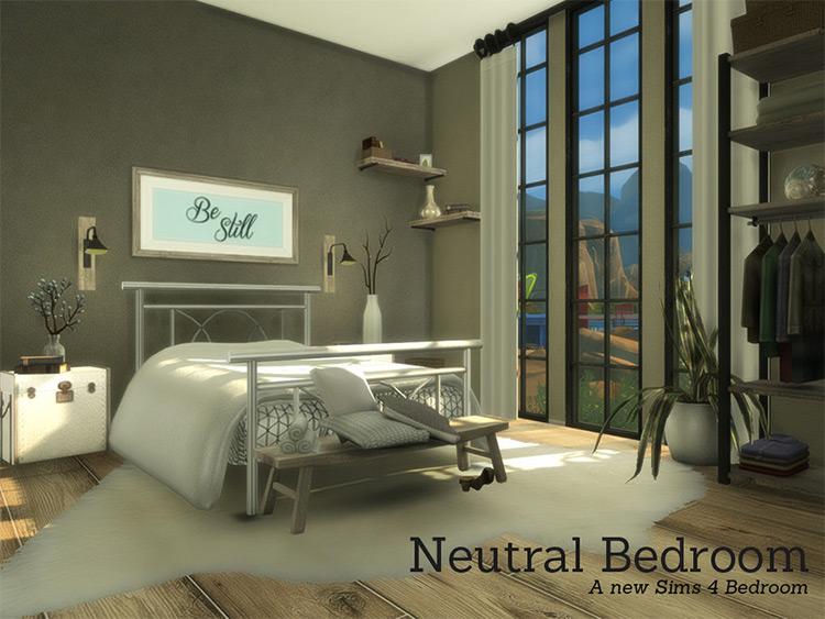 Neutral Bedroom CC Set