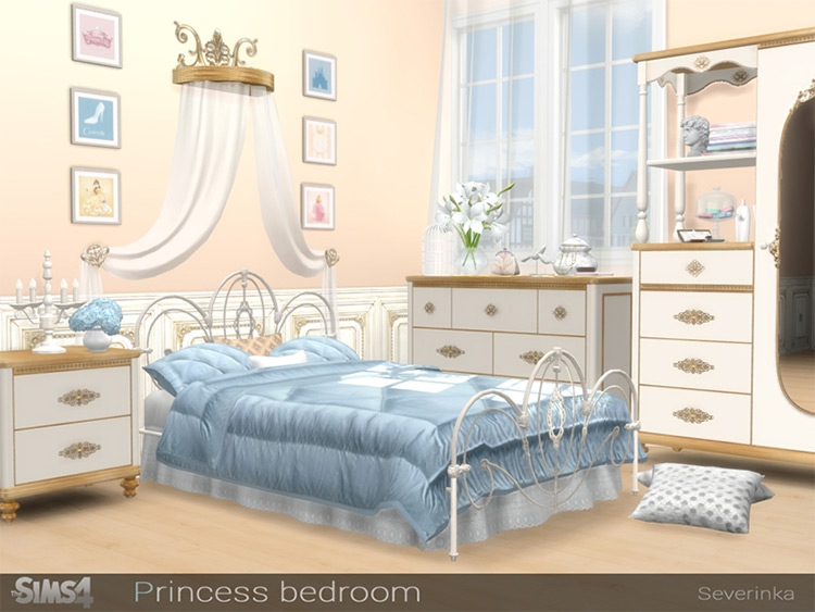 Princess Bedroom CC Set