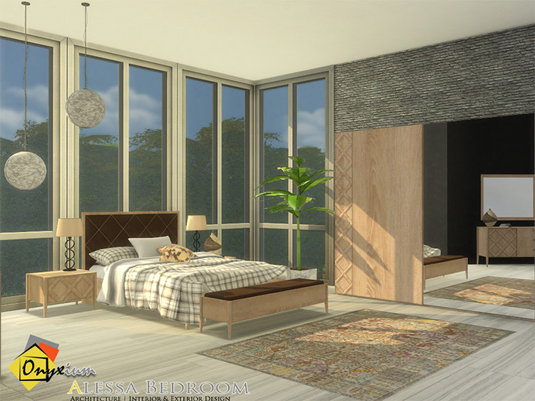 Alessa Bedroom CC for The Sims 4