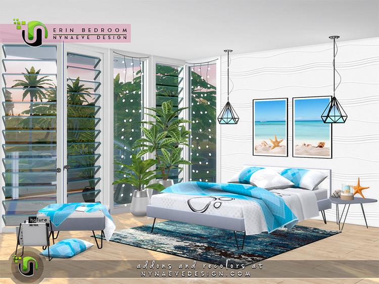 Erin Bedroom CC Set