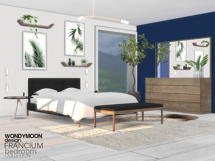 Francium Bedroom CC Set