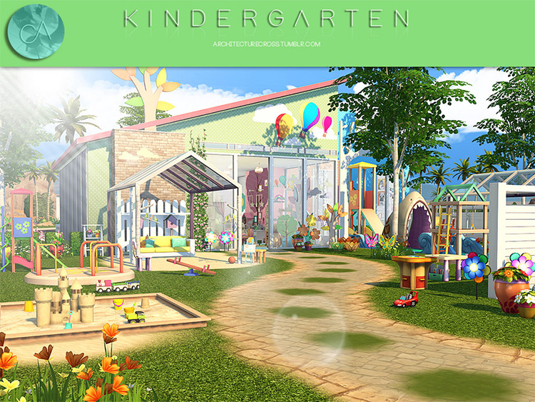 Kindergarten Lot CC for TS4