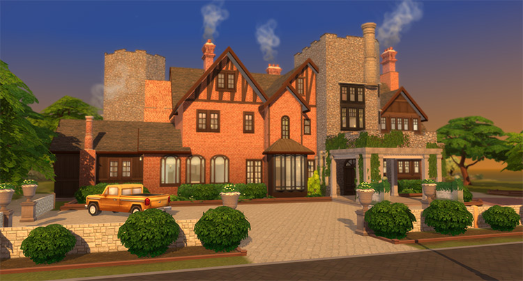 Bisham Manor Mod for The Sims 4