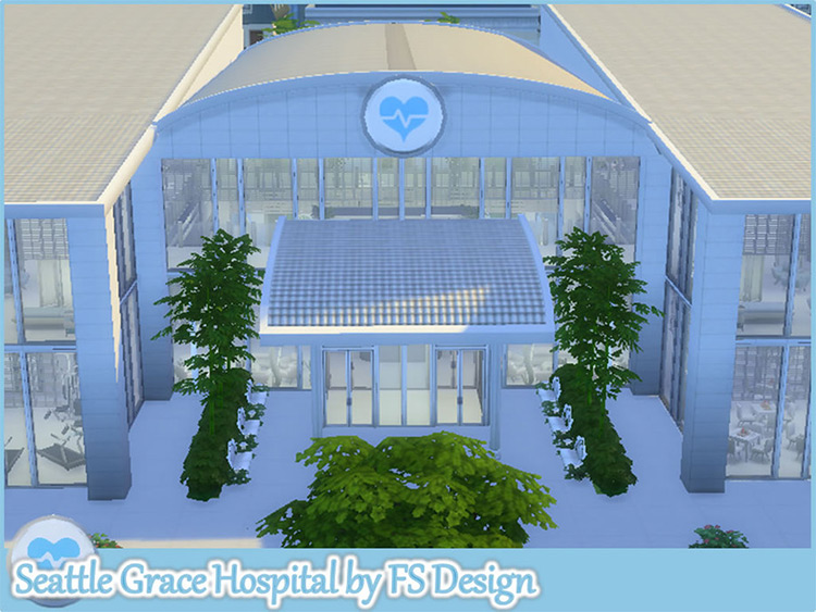 Seattle Grace Hospital Mod for Sims 4