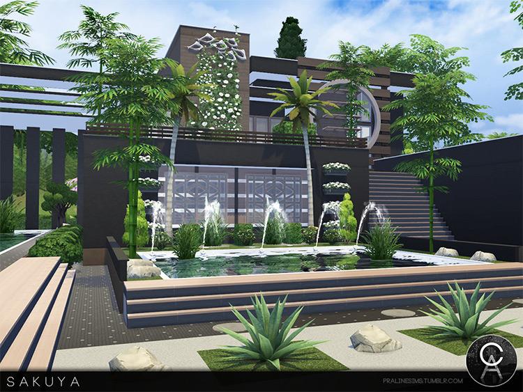 Sakuya House Mod for Sims 4