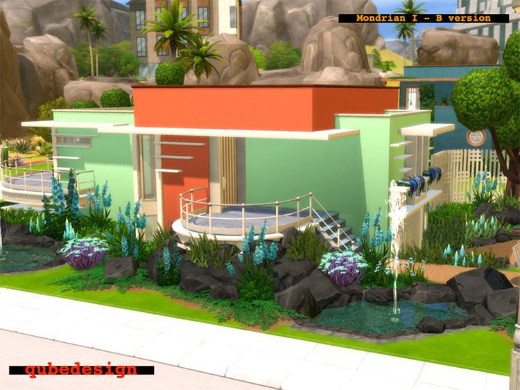Mondrian I - Sims 4 CC