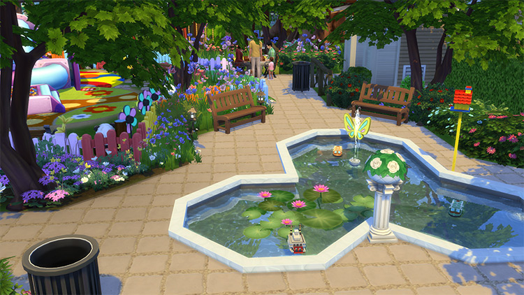 Fun Park CC for The Sims 4