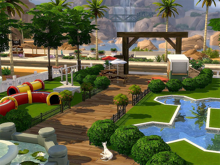 Pet Park CC for TS4