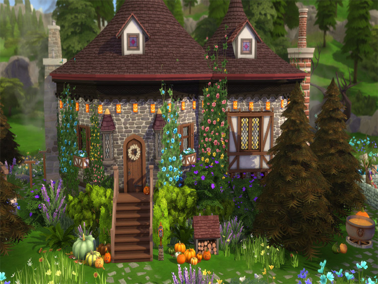 Witch's House Lot CC - TS4