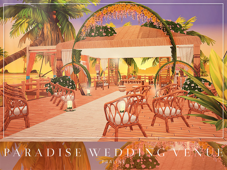 Paradise Wedding Venue CC for TS4