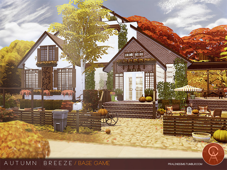 Autumn Breeze CC for The Sims 4