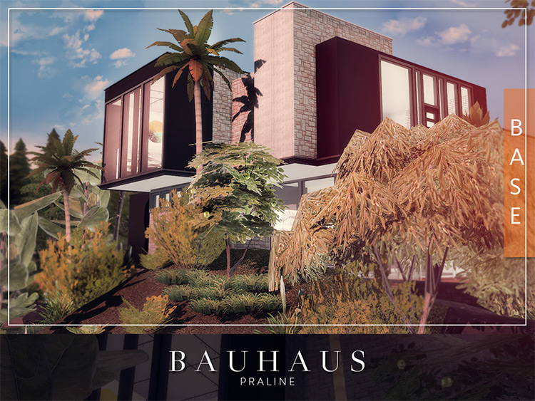 Bauhaus CC for The Sims 4