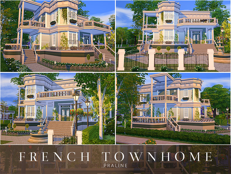 French Townhome CC TS4