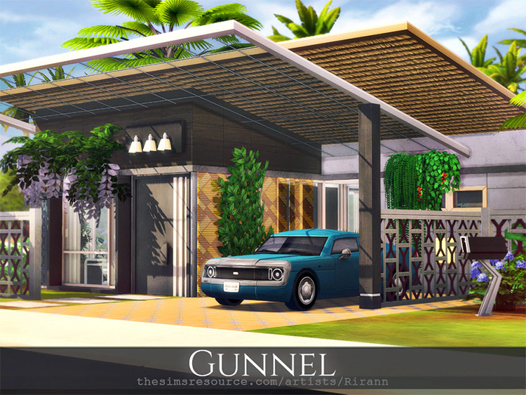 Gunnel CC for The Sims 4