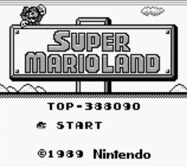 Super Mario Land 1989 Screenshot