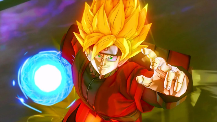 Sage Mode Goku Xenoverse 2