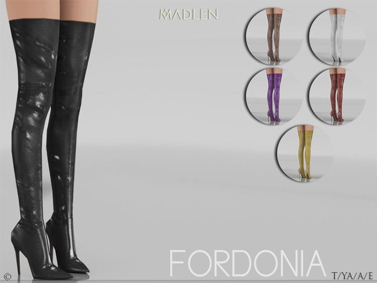 Fordonia Boots w/ heels CC