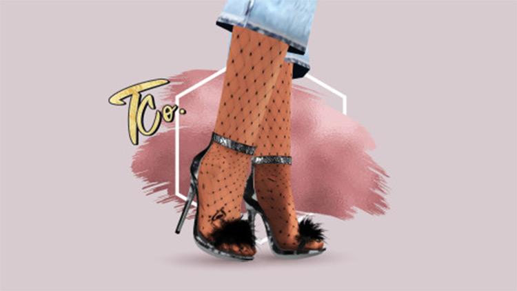 Deserter Stiletto Heels CC