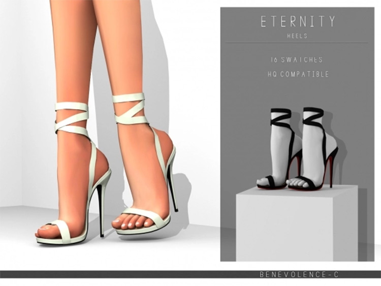 Eternity Heels For The Sims 4