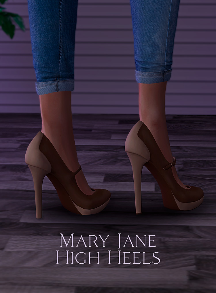 Mary Jane High Heels CC