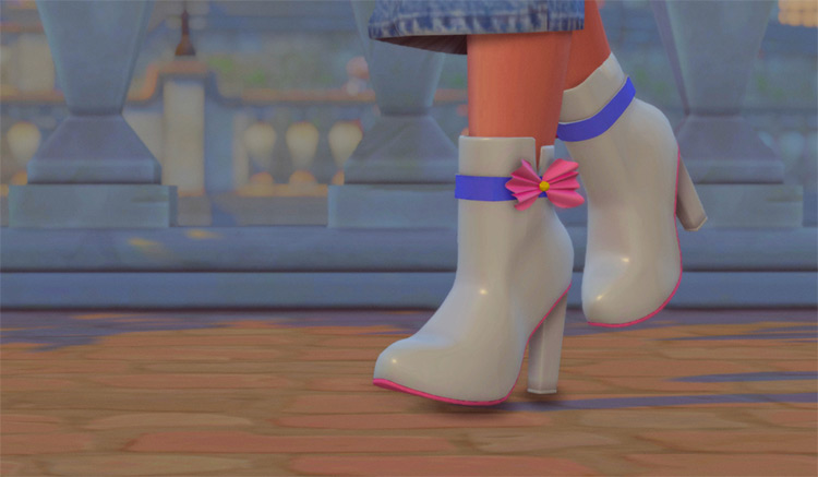 Marisol Boots with Heels - Sims 4