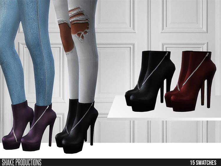 484 Leather Boots CC
