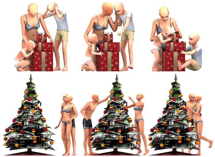 Group Poses Set for Christmas