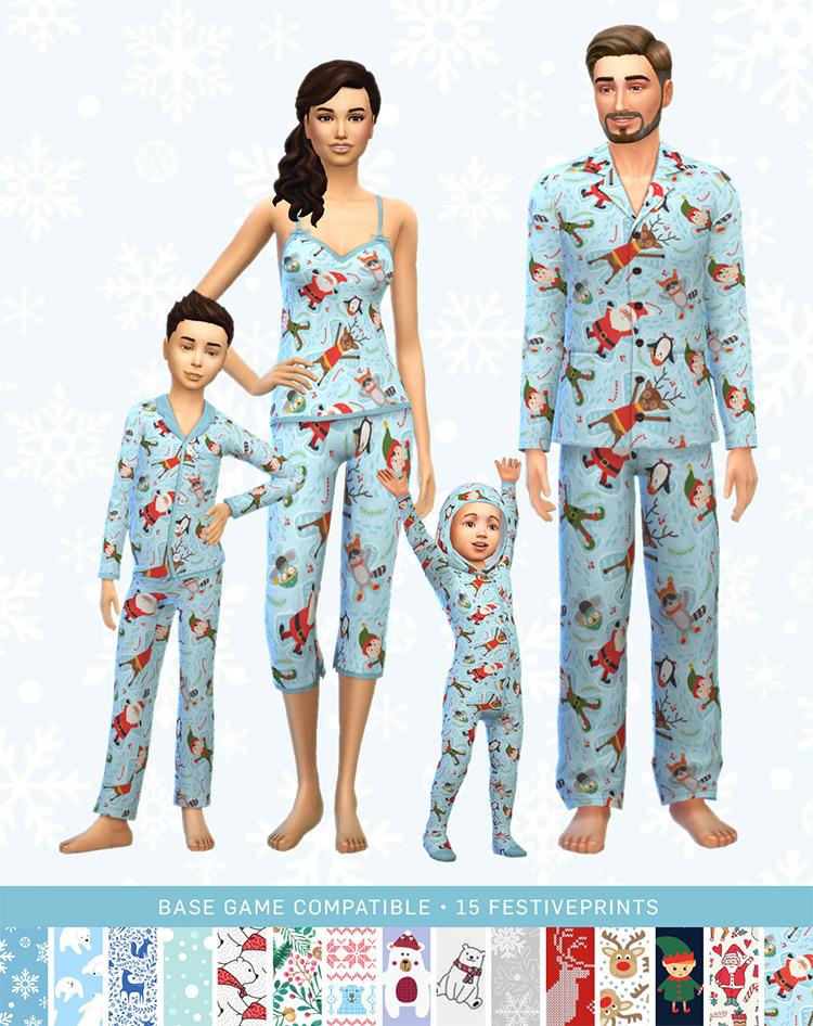Xmas Pajamas for The Sims 4