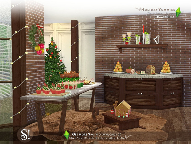 Holiday Yummies Sims 4 CC
