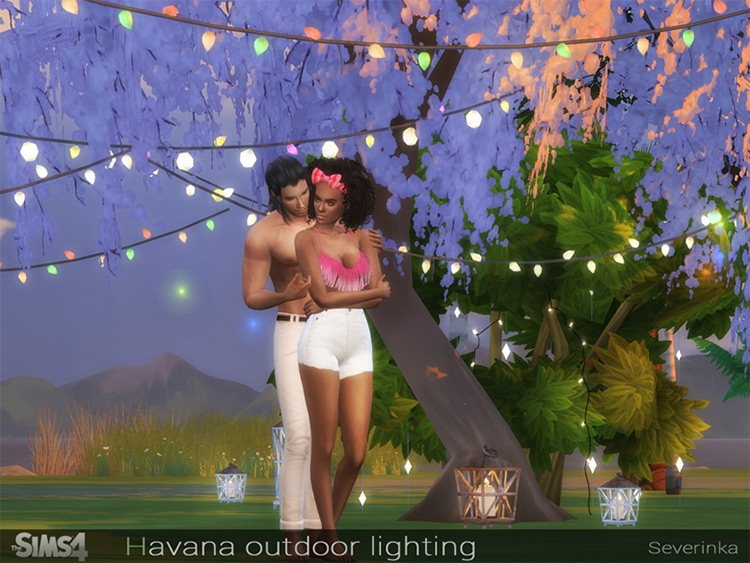 Havana Outdoor Lighting CC Set