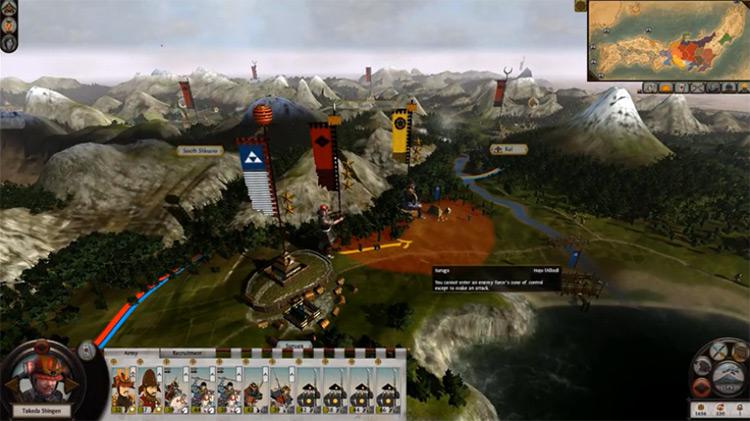 Realism + mod for Total War: Shogun 2