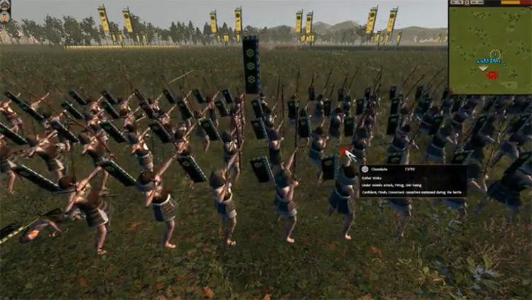 Zen mod for Total War: Shogun 2