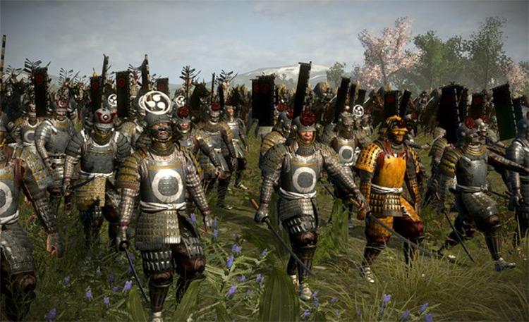 DarthMod: Shogun II screenshot
